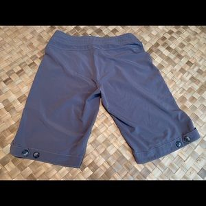 Lucy quick dry grey bermuda work out hiking shorts
